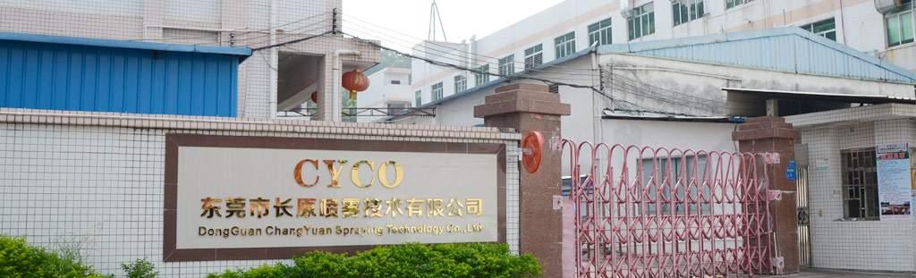 Cyco-Changyuan-Sprühen-Firma-Banner