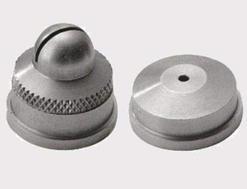 Cabeça de bico atomizador com alimentação por sifão e ar
