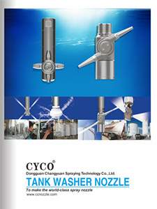 cyco tank washing cleaning nozzle